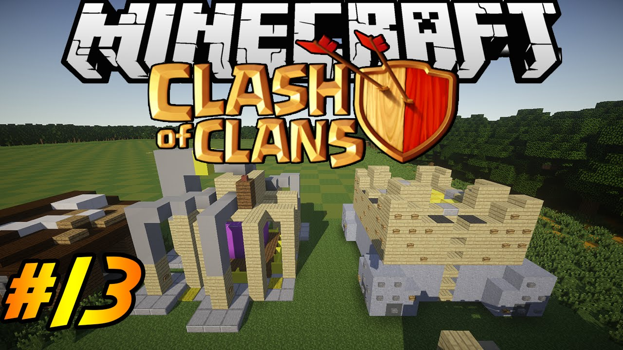 Clash Of Clans In Minecraft Making Of 13 Elixir
