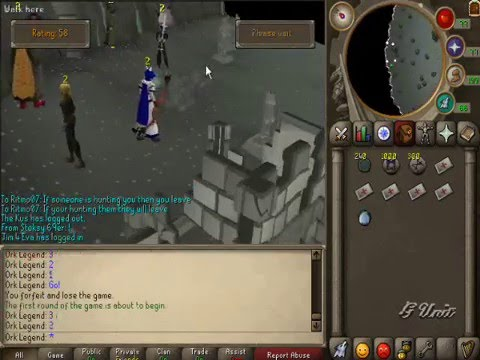 Abusing Fist Of Guthix