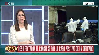 Coronavirus: Desinfectaron El Congreso Por El Caso Positivo De Un Diputado