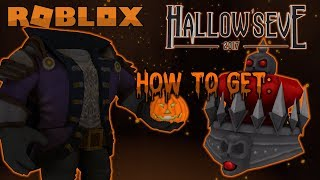 HOW TO GET THE SKELETAL CROWN | HEADLESS HORSEMAN QUEST | HALLOW'S EVE EVENT | Roblox