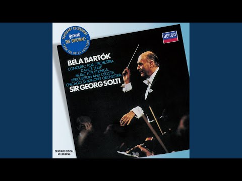 Bartók: Music for Strings, Percussion and Celesta, Sz 106  1 Andante tranquillo