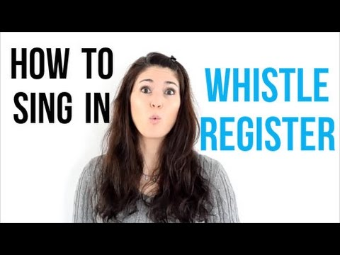 Freya's Singing Tips: How to sing in WHISTLE REGISTER