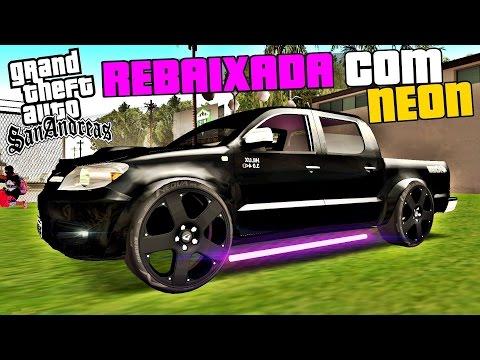 Camionetes Rebaixadas Com NEON e Som Alto Na Praia - GTA Multiplayer