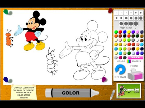 Mickey Mouse Games For Kids