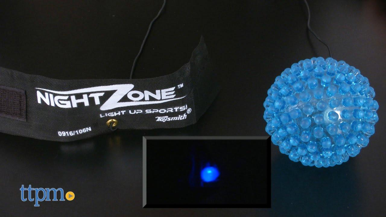 Nightzone light up rebound ball - Nightzone Light Up Rebound Ball From Toysmith