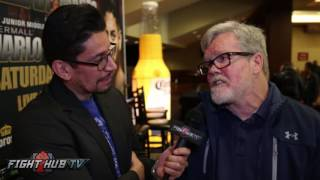 Freddie Roach feels Anthony Joshua beats Klitschko, Wilder but will have trouble with Fury