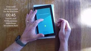 First Start - Lenovo Tab3 7 Essential Wifi