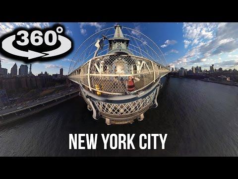 4K 360° New York City Tour