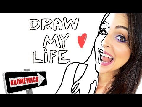 El Draw My Life Ms LARGO e INTENSO de la Historia! - Dibujando mi Vida - SandraCiresArt