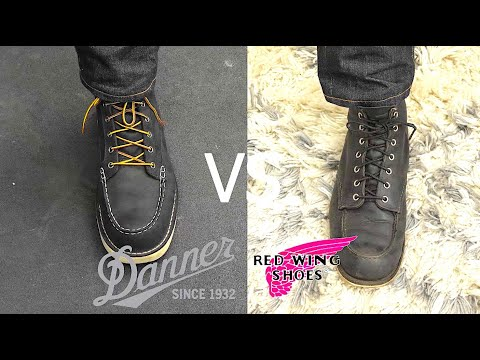 RED WING VS DANNER: Which Is America's Favorite Boot?