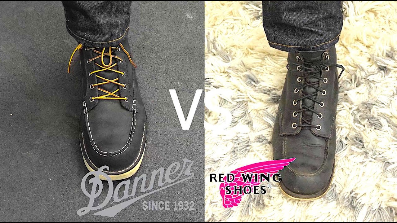 RED WING VS DANNER: Which is America's