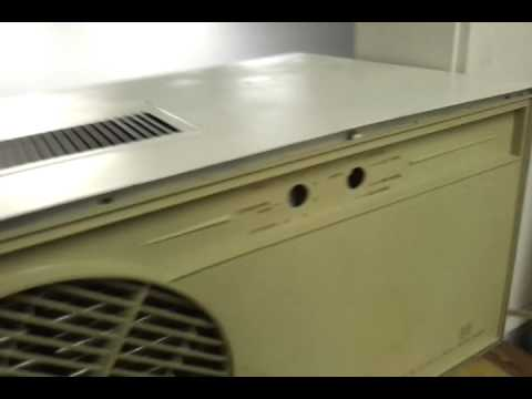 1960 39 s fedders 4000 btu air conditioner installed youtube. Black Bedroom Furniture Sets. Home Design Ideas