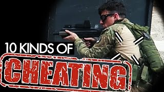 10 Kinds of Airsoft Cheaters 😠  - I Am Number 3
