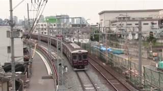 2019春8 阪急電車2A  千里線 柴島 他