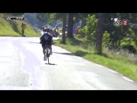 8e étape : la descente aussi incroyable que dangereuse de Chris Froome !