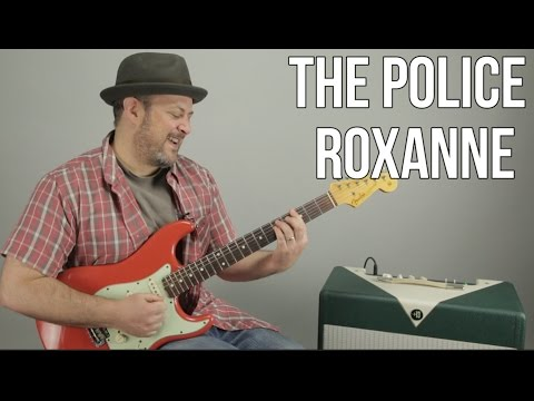 The Police - Roxanne - Guitar Lesson - How to Play on Guitar, Tutorial, Guitar Lesson