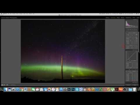 Editing Episode #3 - Aurora & Stars