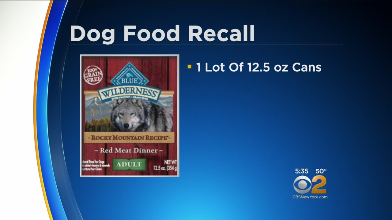 Blue Wilderness Rocky Mountain Dog Food Recall Alert Youtube