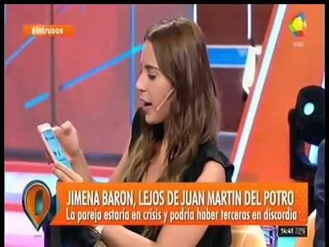 Tremendo: Una panelista de Intrusos mostró que Juan Martín del Potro trató de chamuyarla