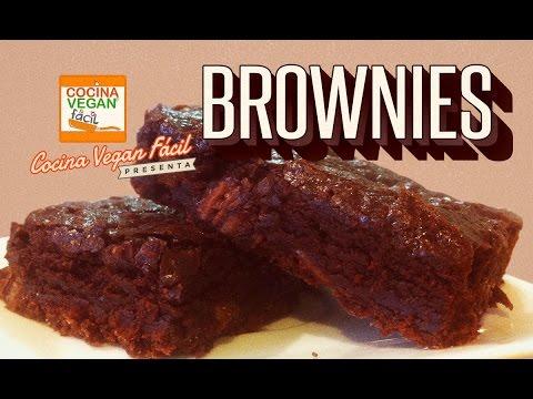 Brownies - Cocina Vegan Fácil
