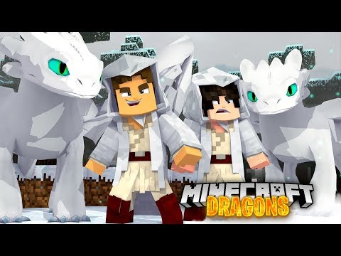 The LAND OF LIGHTFURIES - Minecraft Dragons
