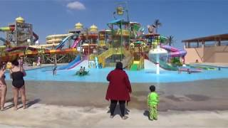 ЕГИПЕТ 2019 аквапарк в отеле Али Баба Хургада