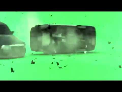 green screen chroma fx cop car crash free DL thumbnail