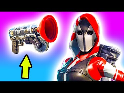 Grappling Hook Gameplay with Chica! 🔵 Fortnite High Stakes Event