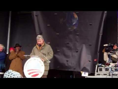 Sen. Sheldon Whitehouse Speaks to Forward on Climate, Anti-Keystone Rally (2/17/13)