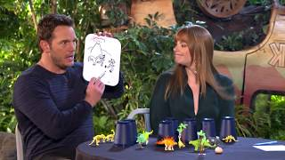 'The Ultimate Dinosaur Challenge' with Bryce Dallas Howard and Chris Pratt — Tastemade