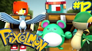 HUGE CRATE OPENING!  | Pixelmon Journey #12 w/ Dollastic Plays!