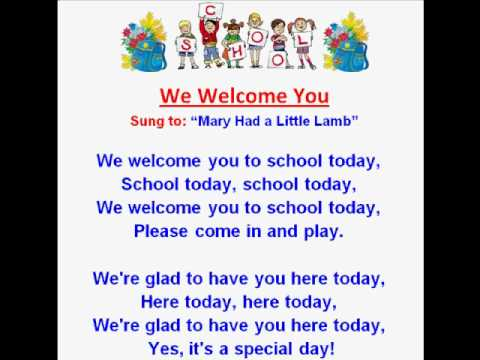 We welcome you kids back to school rhymes and songs kids read and we welcome you kids back to school rhymes and songs kids read and sing m4hsunfo
