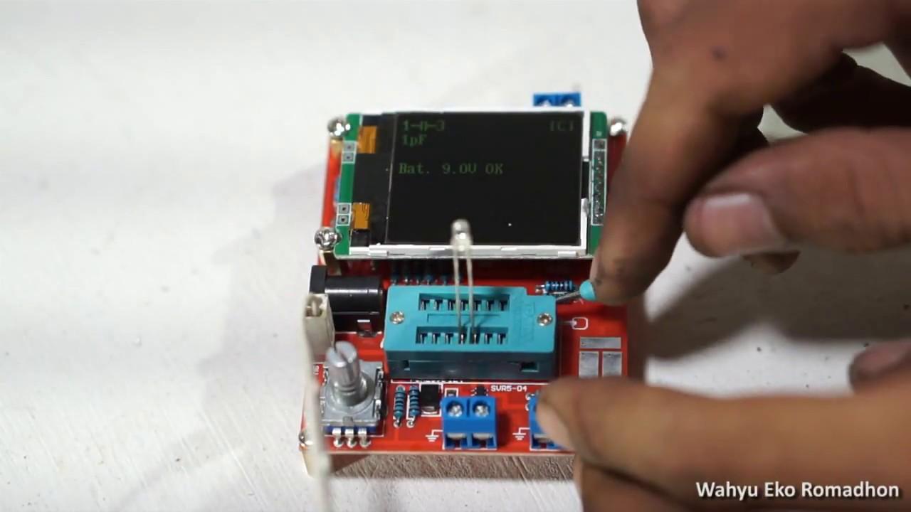 GM328 NPN and PNP Transistor Tester Diode Resistance Capacitance Test DIY
