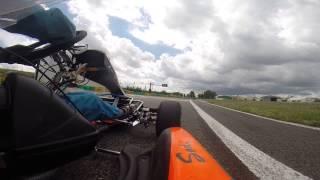 Video karting avec camera embarqué gopro hero3 en Pays de Loire à Ancenis 44