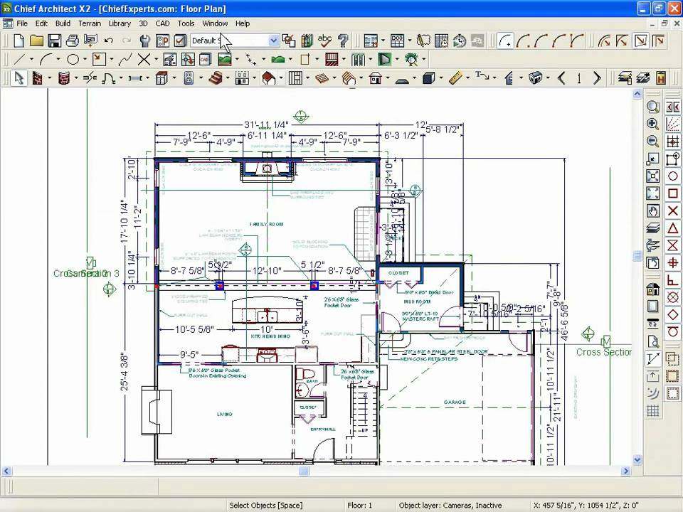 Aplikasi Gambar Denah Rumah Chief Architect Mistake #5 - How To Lay Out A Plan - Youtube