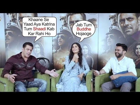 Salman Khan Makes FUN of  Katrina Kaif Marriage Plans in Bharat Movie Promotions