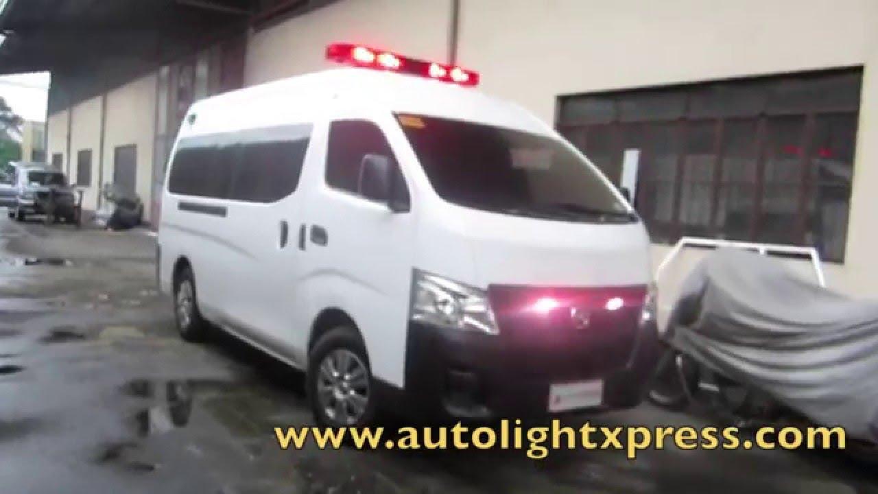Nissan Nv350 Ambulance Unit