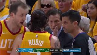 Ricky Rubio vs Thunder - Playoffs R1 - G3 (21 - 4 - 2018)