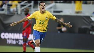 Brasil 7 x 1 Haiti #Melhores Momentos -  Copa América 2016 - 08/06/2016