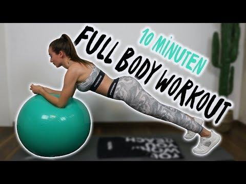 Die Besten Übungen Mit Dem Gymnastikball | Workout Ohne Springen & Fettverbrennung Pur