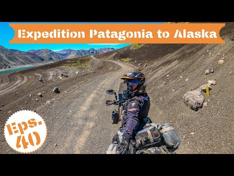 [S2 - Eps. 40] Crossing the remote Paso Pichachen in Argentina by motorcycle