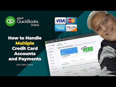 Handle Multiple Amex Accounts And Payments In QuickBooks Online