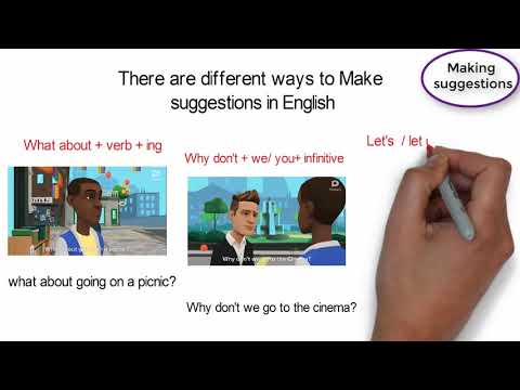 Making and Responding to Suggestions|Animated lesson.