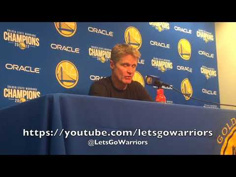 STEVE KERR, postgame GSW (9-3) vs MIN: turnovers, Steph Curry, Omri Casspi