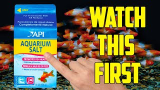 Watch this before you use Salt in your Fish Tank!