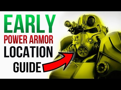 Fallout 76 - 6 POWER ARMOR Spawn Locations to Visit EARLY (Full Set)! thumbnail