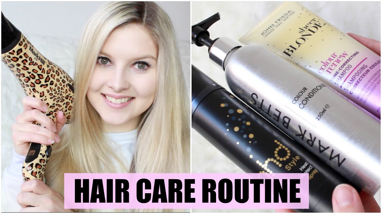 My Current Hair Care Routine (Long Blonde Hair)