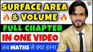 Surface Area And Volume   Mensuration   Class 10   CBSE Class 10 Maths Chapter 13   Full Chapter