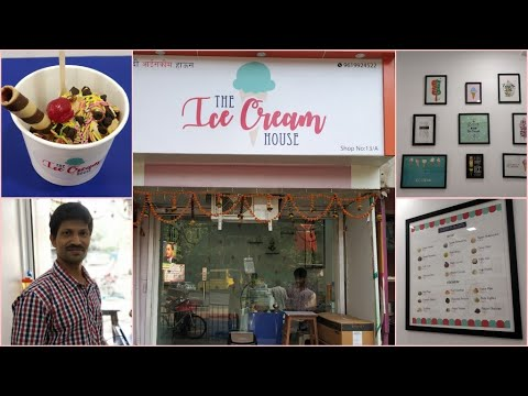 The Ice Cream House - Ice Cream Parlour - Kannamawar Nagar/Vikhroli --- Vlogg_ers™
