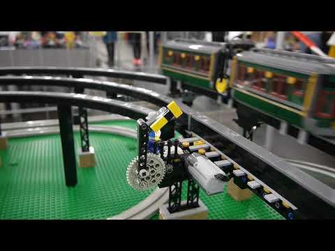 Steampunk Monorail Bricking Bavaria 2018